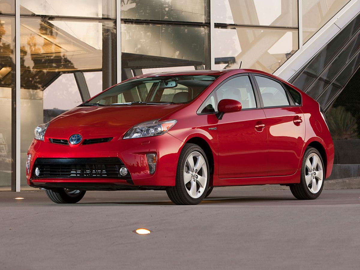 2012 Toyota Prius Two Red 18L 4-Cylinder DOHC 16V VVT-i Reputation for reliability precedes its