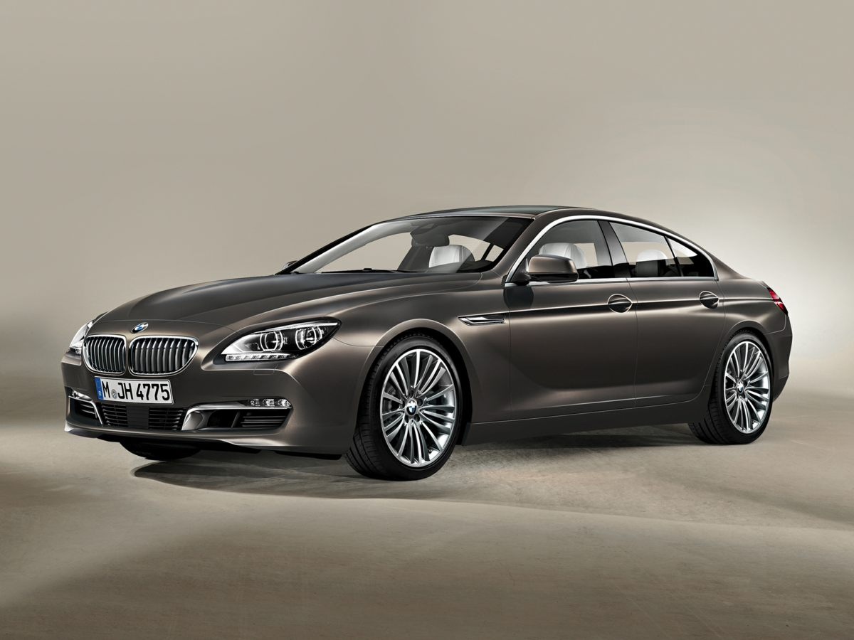 2015 BMW 6 Series 650i xDrive Gran Coupe Blue Driver Assistance Plus Active Blind Spot Detection
