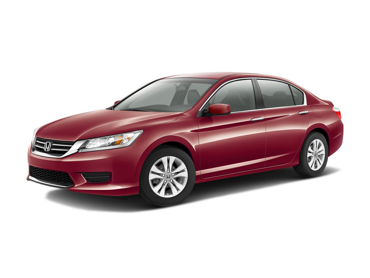 2014 Honda Accord LX Red 16 Alloy WheelsFront Bucket SeatsCloth Seat Trim160-Watt AMFMCD Aud