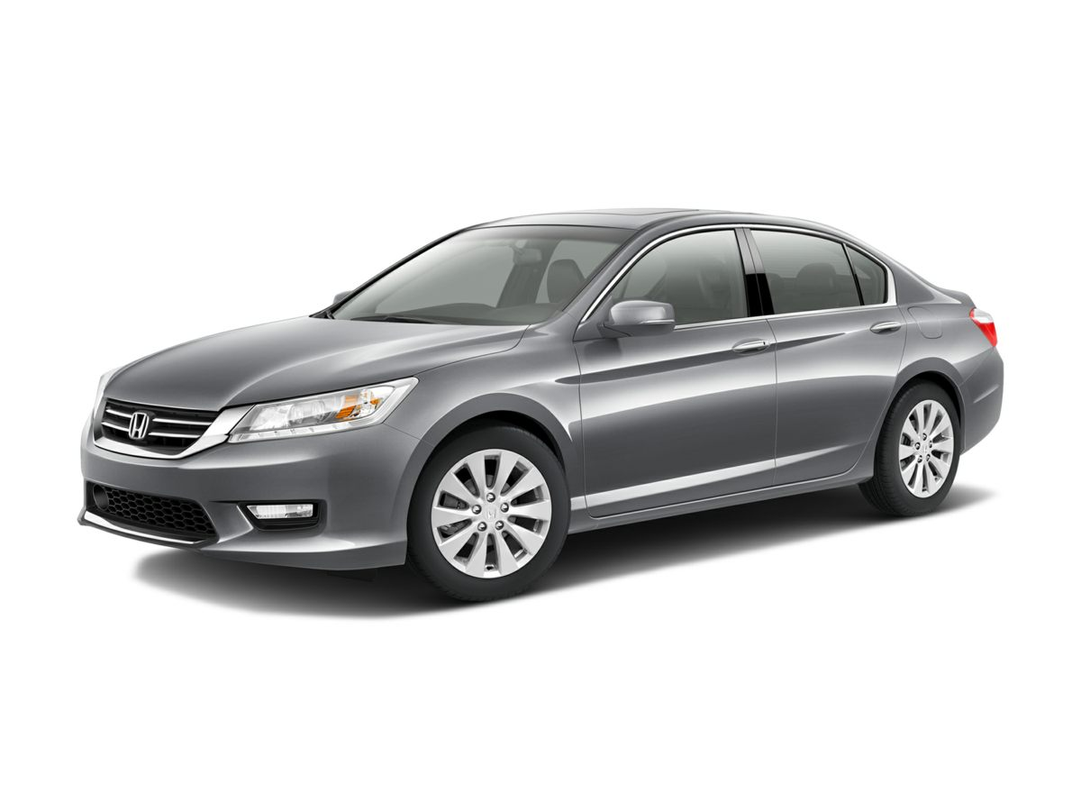 2014 Honda Accord Touring Gray 17 Alloy WheelsHeated Front Bucket SeatsPerforated Leather-Trimm