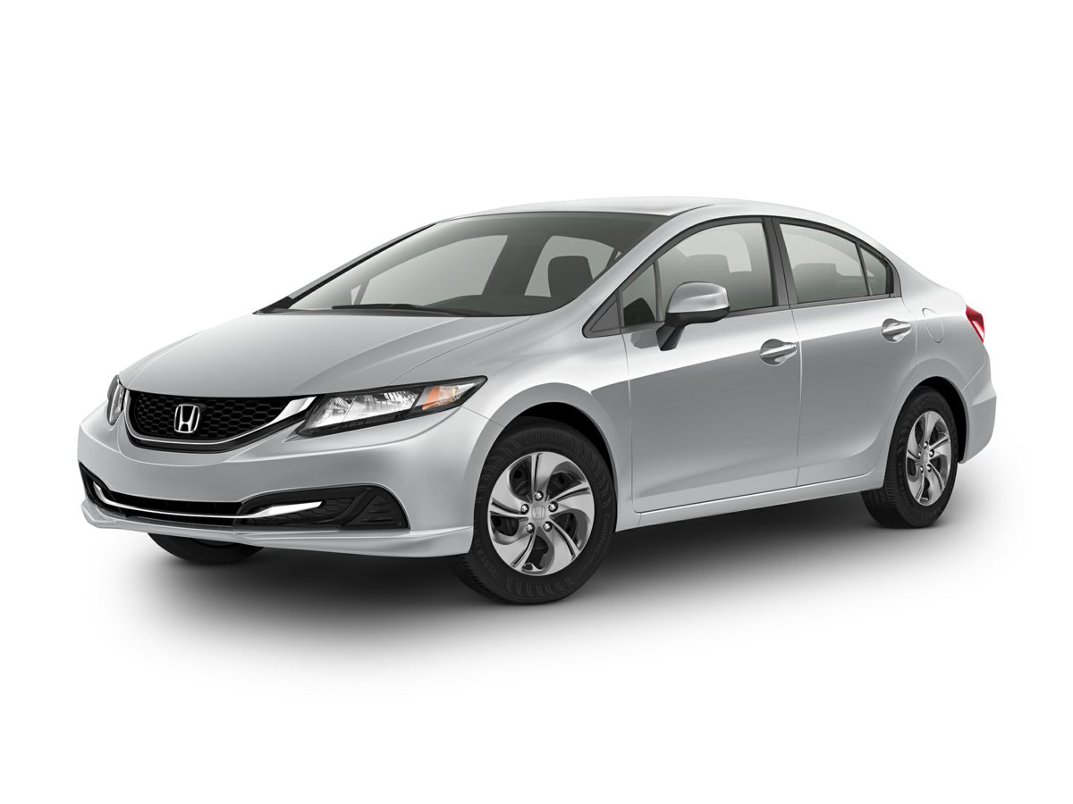 2014 Honda Civic LX Silver Newly Detailed and 80 Point Inspection Black wCloth Seat Trim You w