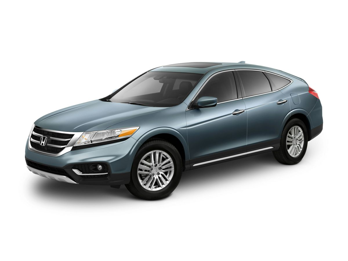 2013 Honda Crosstour EX-L Gray 444 Axle RatioHeated Front Bucket SeatsLeather-Trimmed SeatsRad