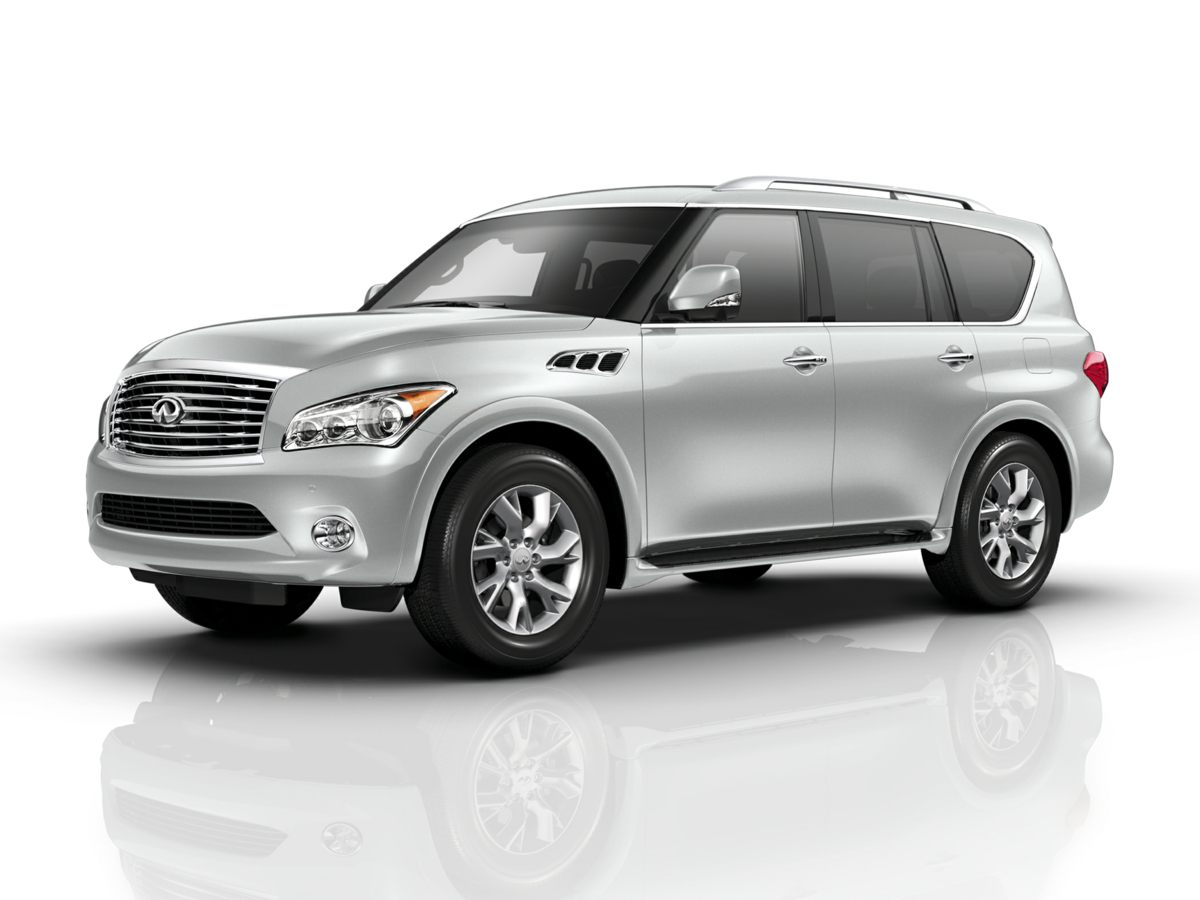 2013 Infiniti QX56 Base White 4WD Smooth sailing switchgear Modified to meet the needs of moder