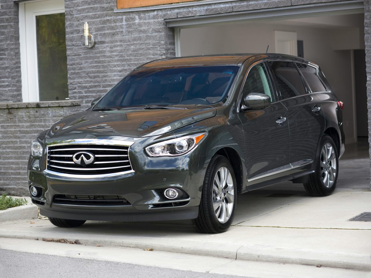 2013 INFINITI JX35 Base Black 517 Axle Ratio18 Split 5-Spoke Aluminum-Alloy WheelsHeated Fron