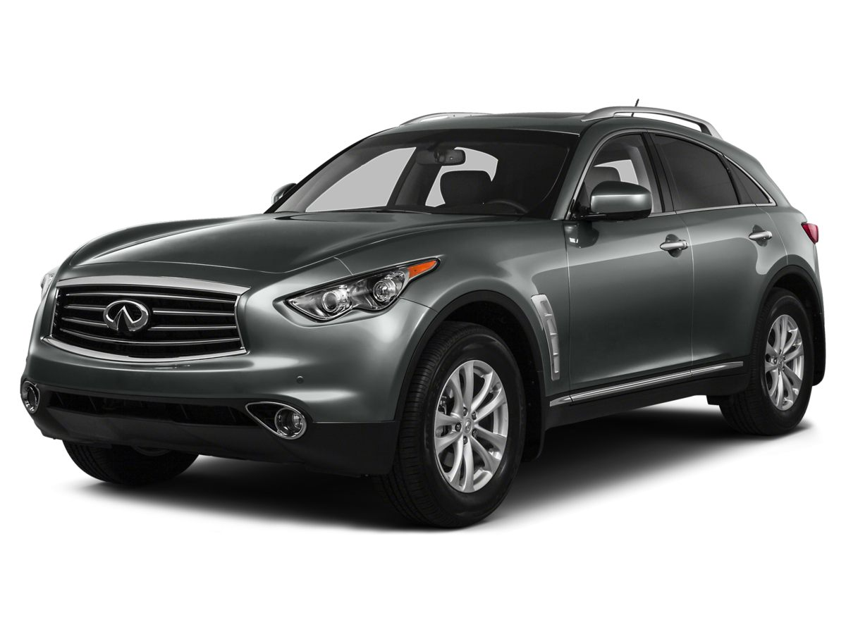 2014 INFINITI QX70 Base Gray Navigation System and Power moonroof Come to the experts All the r