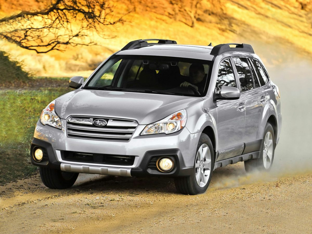 2014 Subaru Outback 36R Blue Wet-Weather Traction control puts you in control under inclement co