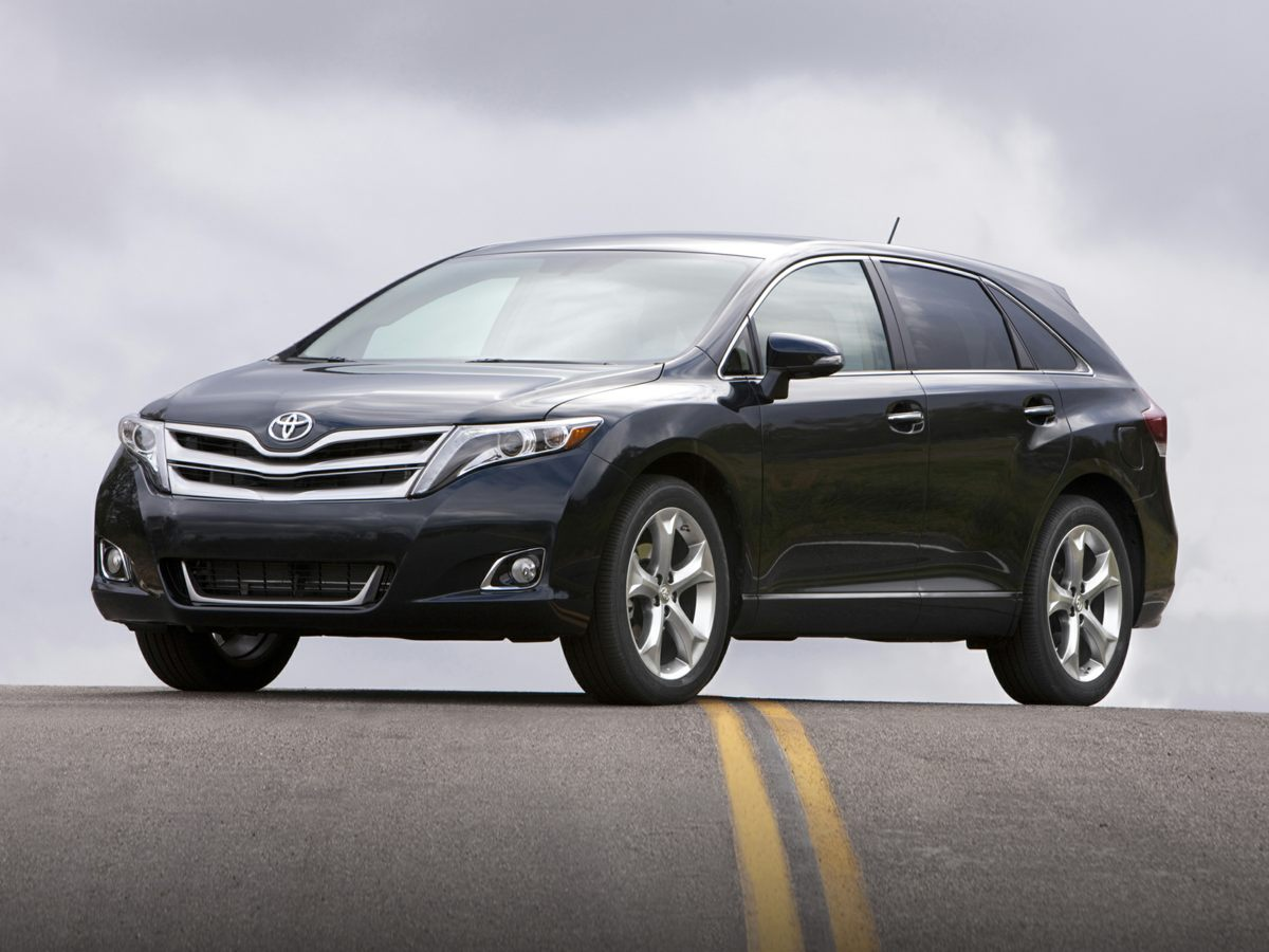 2014 Toyota Venza XLE Black Venza XLE 4D Sport Utility ABS brakes Air Conditioning Alloy whee