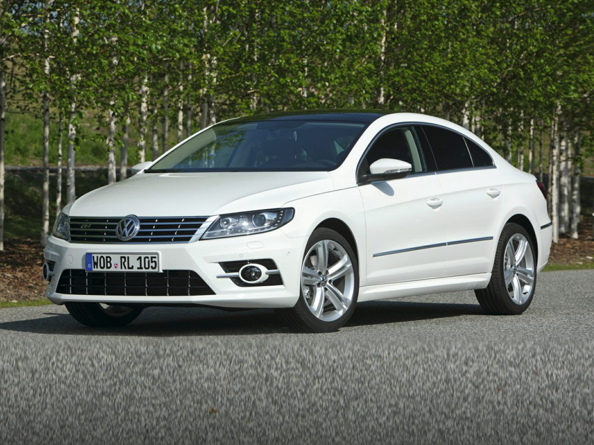 2015 Volkswagen CC 20T R-Line White 18 Mallory Alloy WheelsHeatable Front SeatsV-Tex Leathere