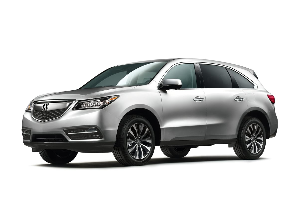 2014 Acura MDX 35L Technology Package Silver AWD Silver Bullet Be the talk of the town when yo