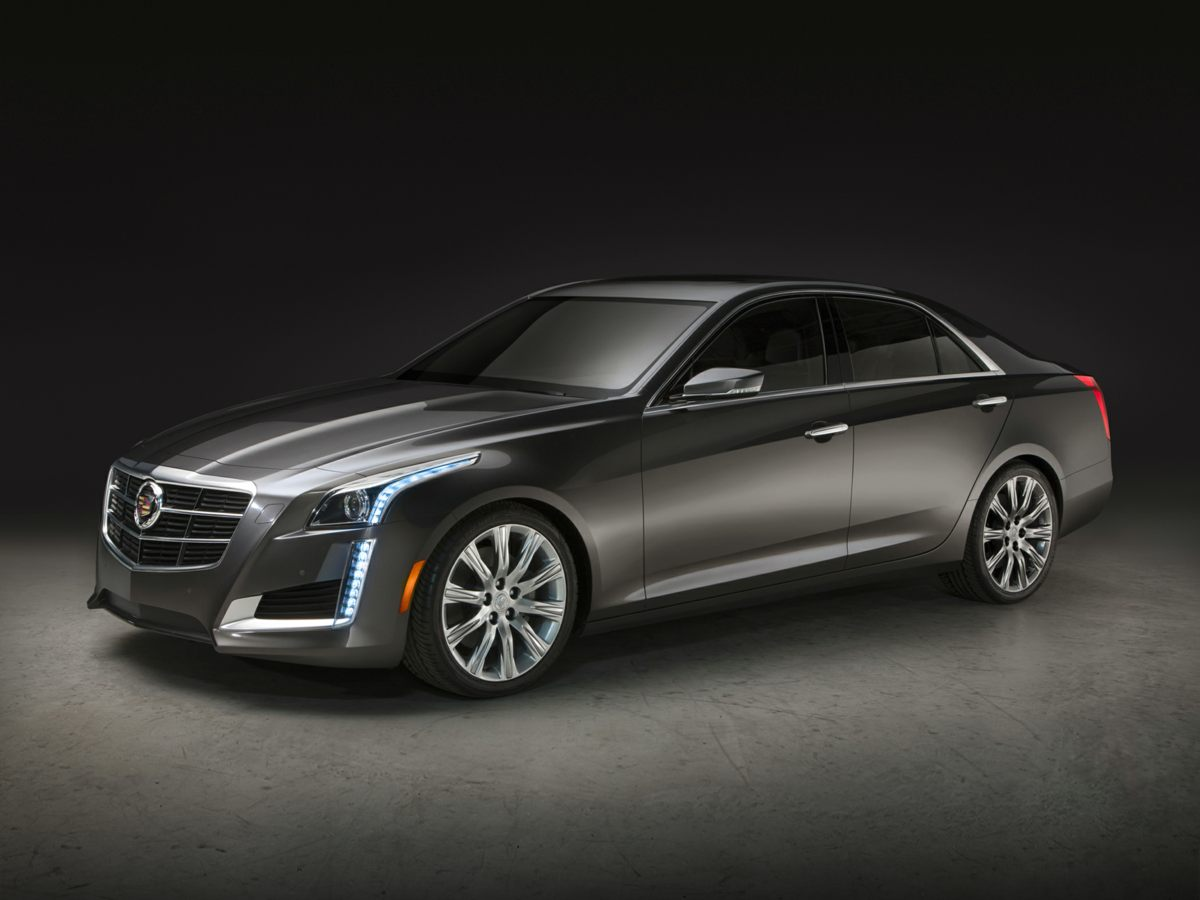 2015 Cadillac CTS 20L Turbo Gray Turbocharged Oh yeah Are you ready for some hauling This w