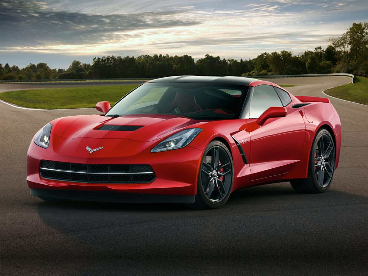 2015 Chevrolet Corvette Stingray Z51 Leather Interior Corvette Stingray Z51 2D Coupe and Radio