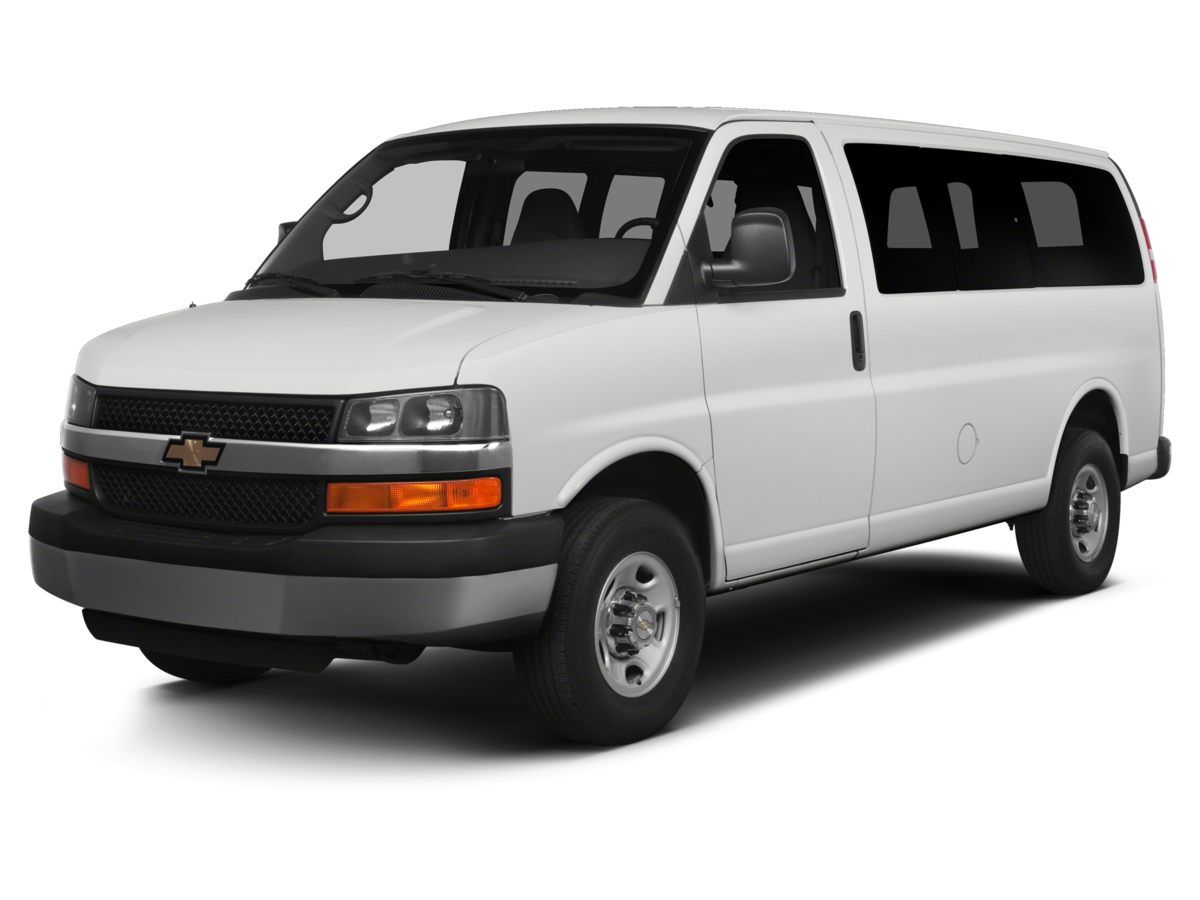 2014 Chevrolet Express 3500 LT White Carfax 1 Owner GM Certified On Star Equipped Remote Keyle