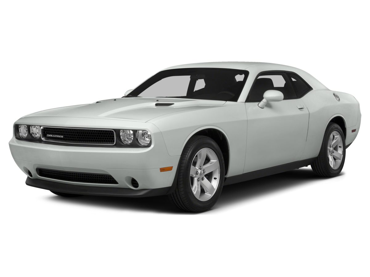 2014 Dodge Challenger SXT White 18 x 75 Aluminum WheelsCloth Low-Back Bucket SeatsRadio Ucon