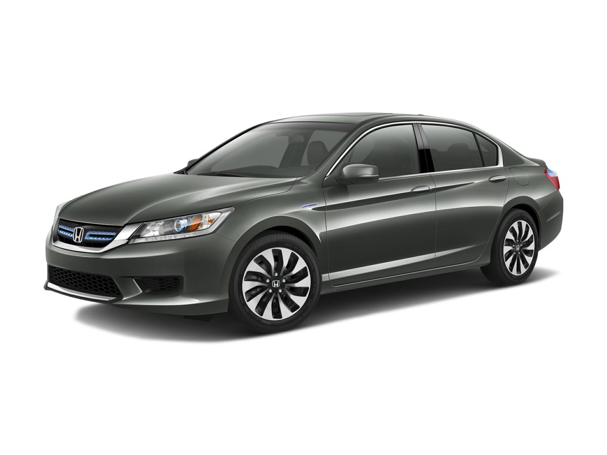 2015 Honda Accord Hybrid EX-L Gray 20L 4-Cylinder i-VTEC and Ivory Solid as a rock Budget-consc