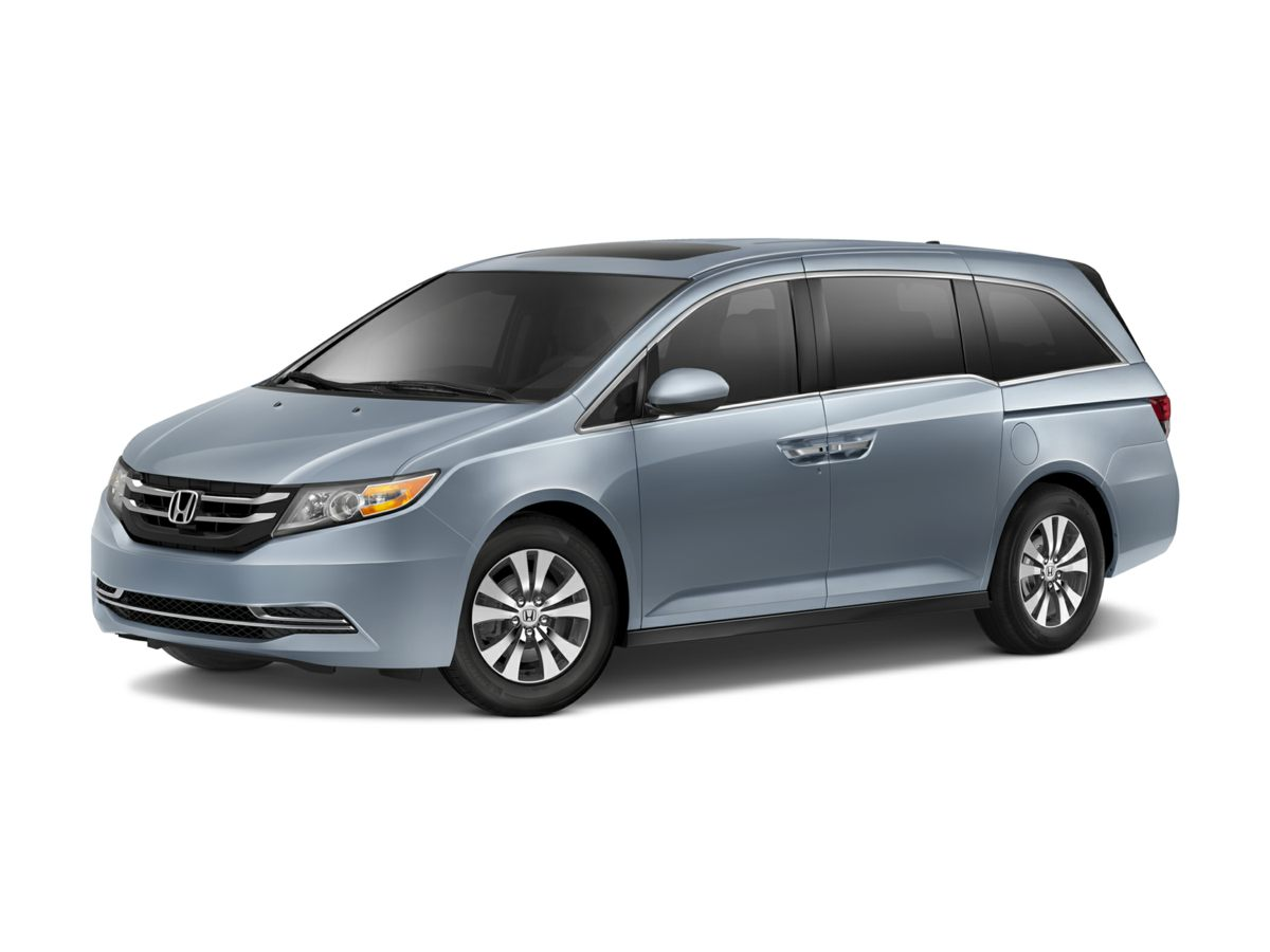2014 Honda Odyssey EX-L Gray 425 Axle RatioHeated Front Bucket SeatsLeather Seat TrimAMFMCD