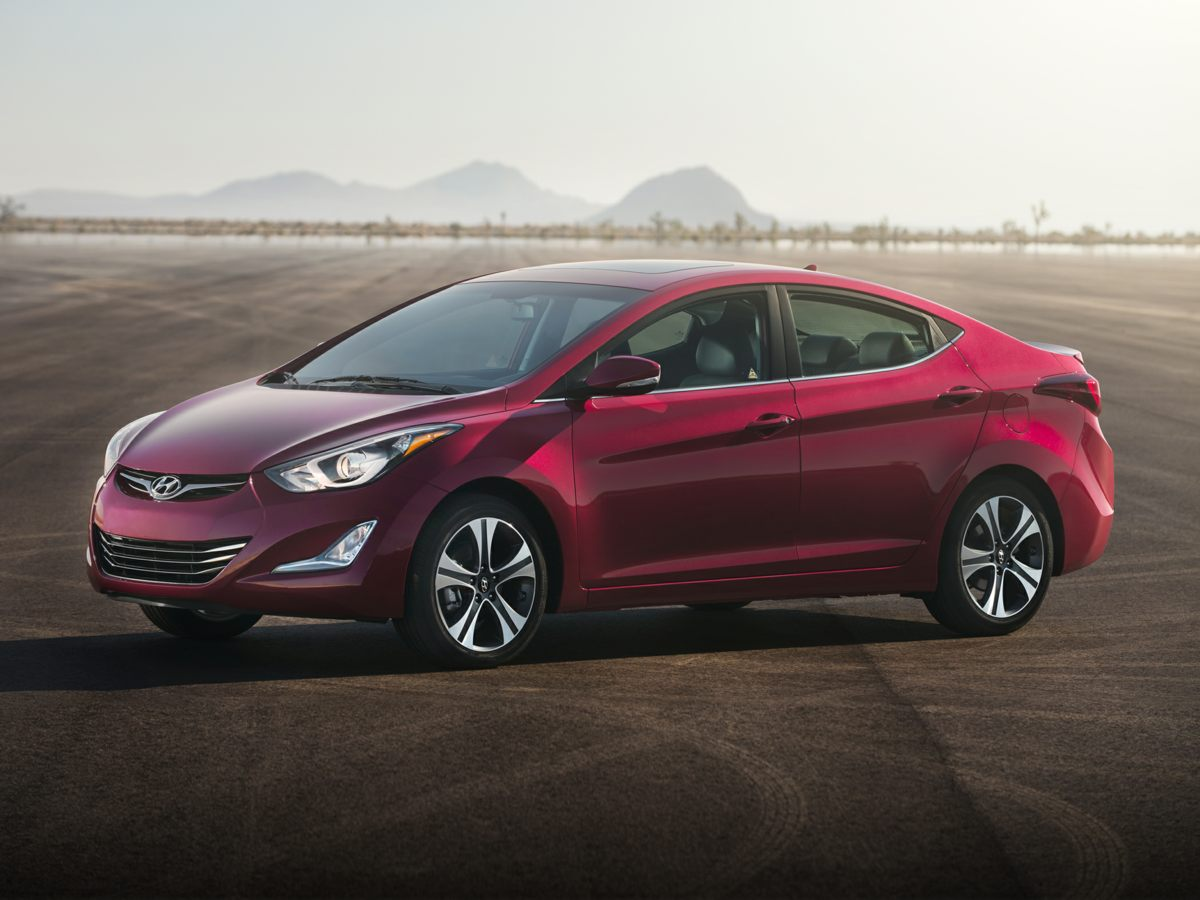 2014 Hyundai Elantra Limited 6 SpeakersAMFM radio SiriusXMCD playerMP3 decoderRadio AMFMC