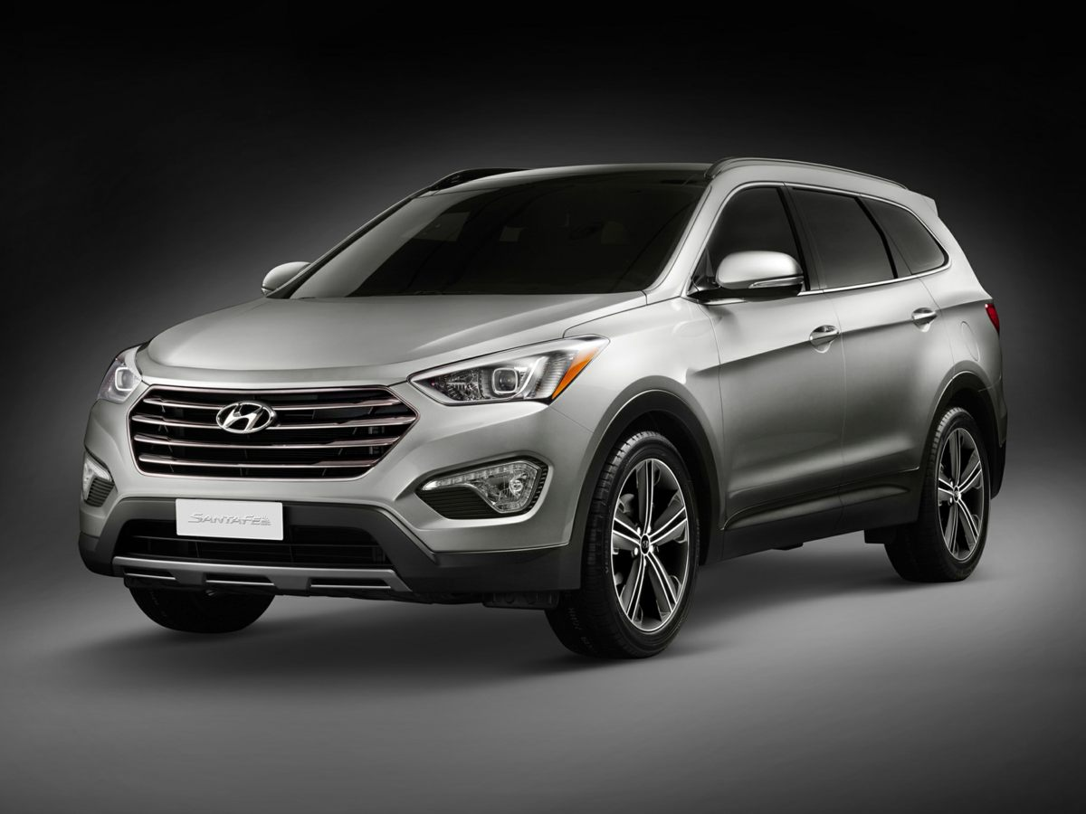 2014 Hyundai Santa Fe Limited Red 3041 Axle RatioHeated Front Bucket SeatsLeather Seating Surfa