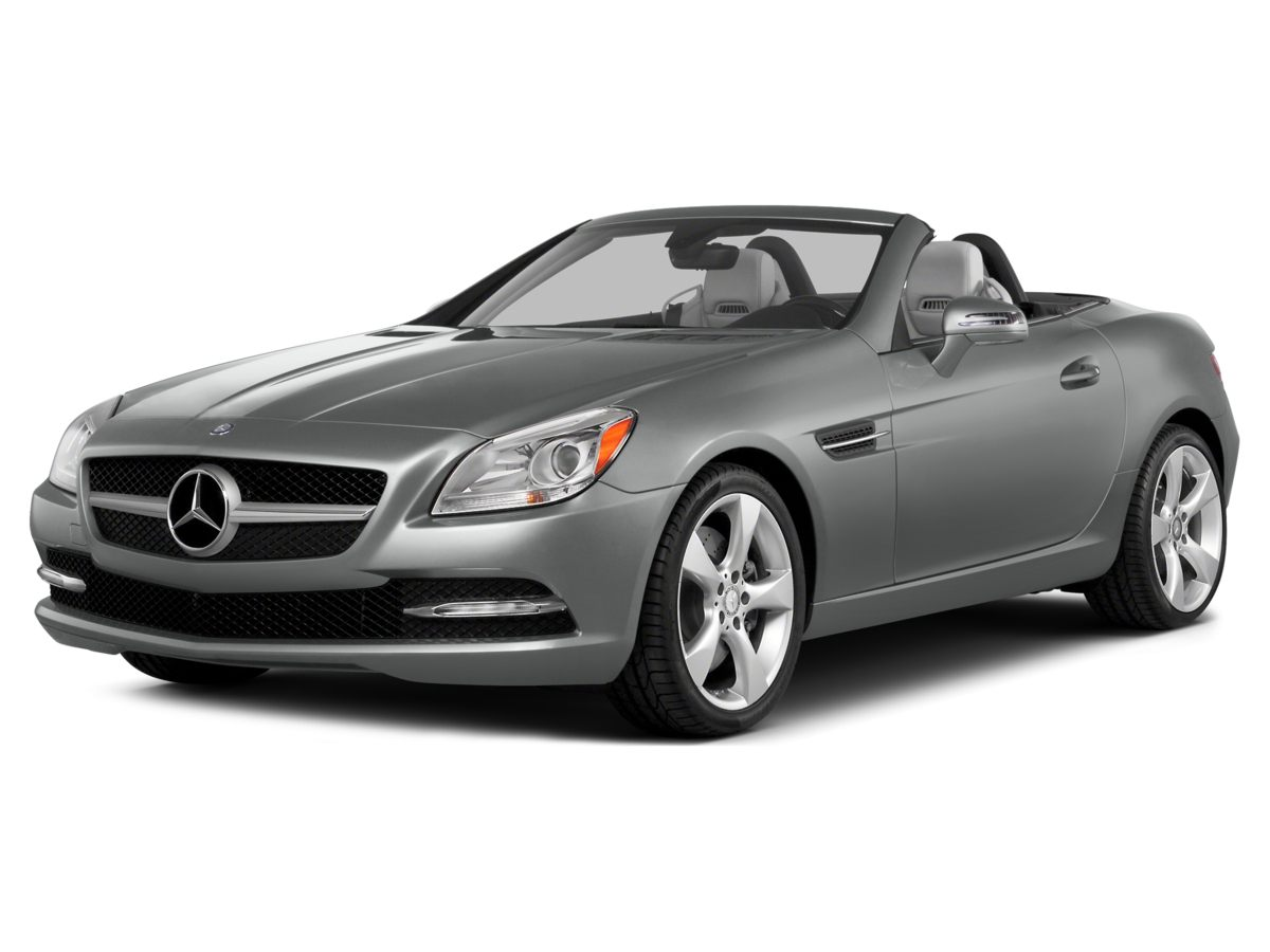 2014 Mercedes SLK-Class SLK350 Heated 8-way Power Sport Seats wMemoryLeather UpholsteryRadio ha