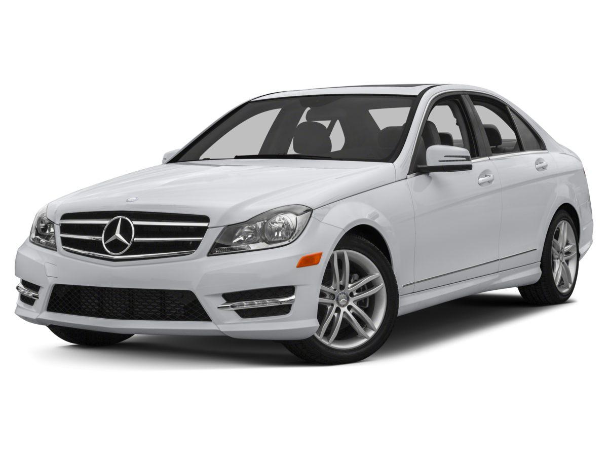 2014 Mercedes-Benz C-Class C250 White MB-Tex UpholsteryRadio HD AMFM Single Disc CDMP34-Whee