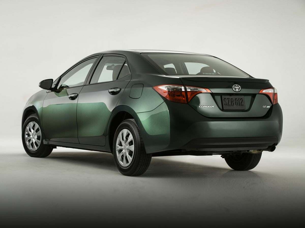 2014 Toyota Corolla LE Gray Corolla LE and 4D Sedan Pad your wallet with the gas savings A gas