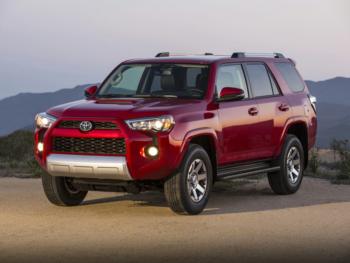 2015 Toyota 4Runner Red CD playerMP3 decoderAir ConditioningRear window defrosterPower driver