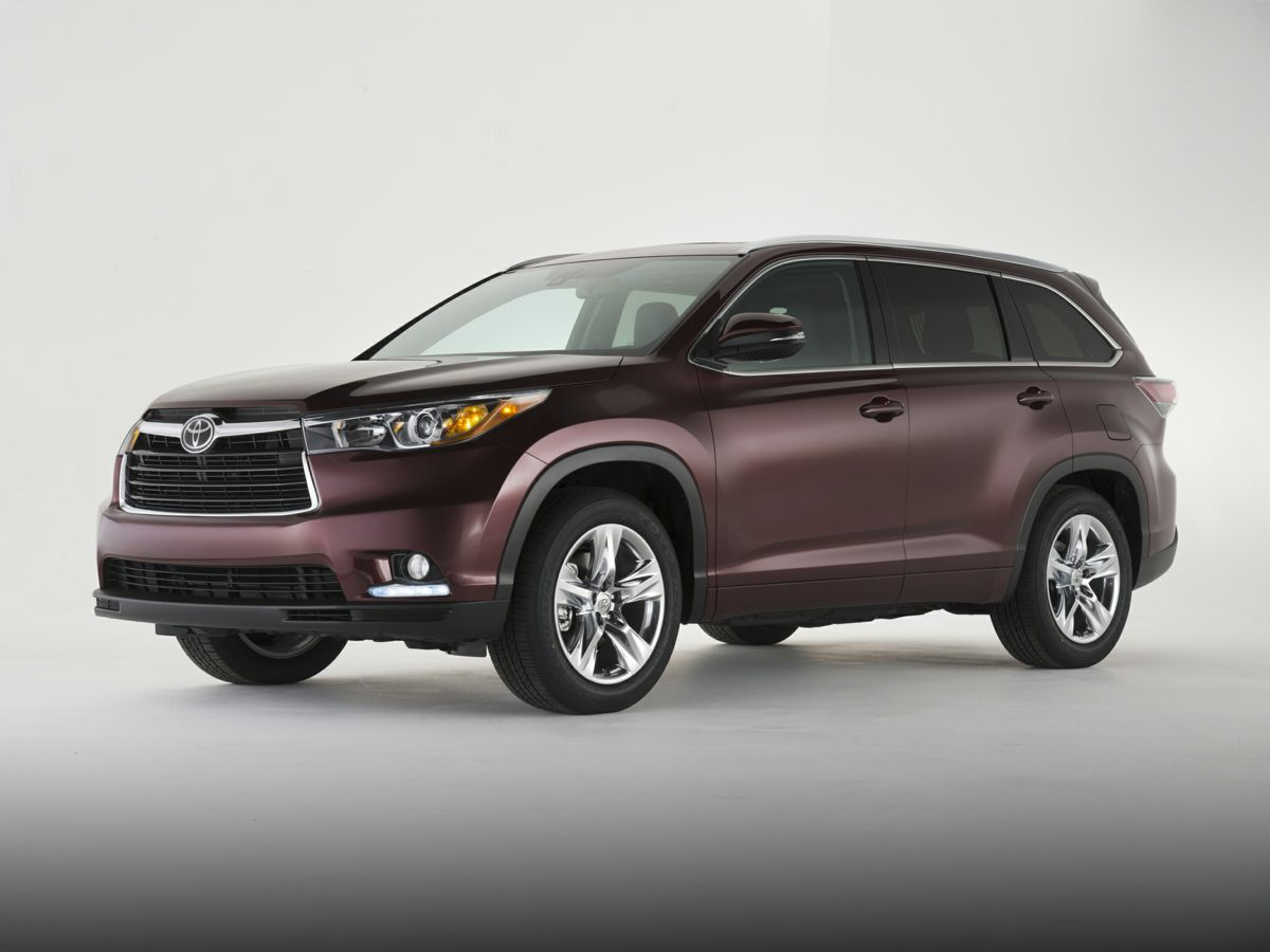 2014 Toyota Highlander Limited Black Newly Detailed 80 Point Inspection 1 OWNER and CLEAN CARF