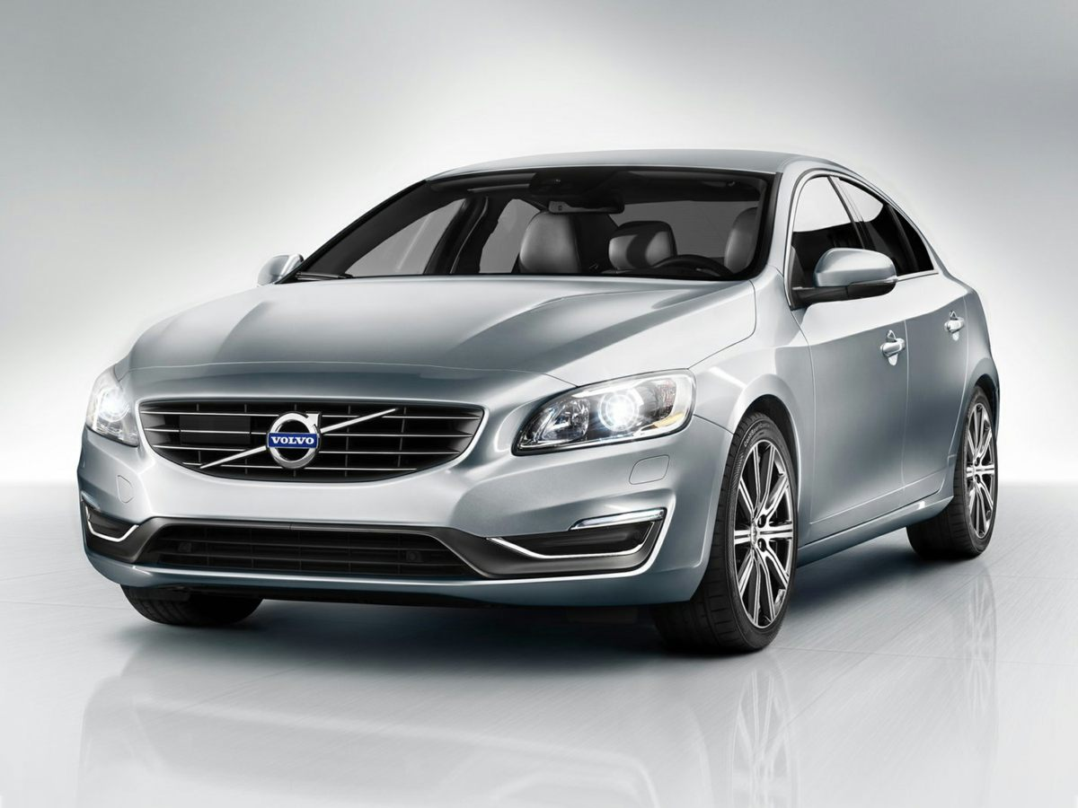 2015 Volvo S60 T5 Premier Gray Front Bucket SeatsLeather Seating SurfacesRadio High Performance