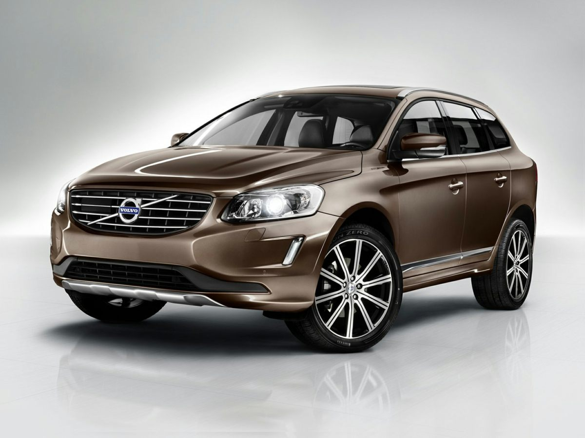 2015 Volvo XC60 T6 Premier Plus Black Front Bucket SeatsLeather Seating SurfacesRadio AMFM Sin