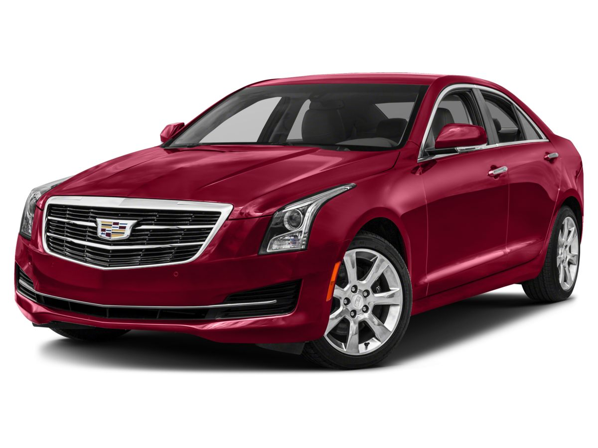 2015 Cadillac ATS 36L Luxury Black Has sticking power Take charge of the winding road This a