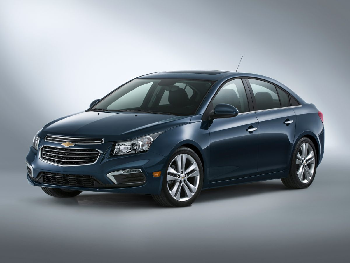 2015 Chevrolet Cruze LS Silver Preferred Equipment Group 1SB GM Certified All the right ingredi