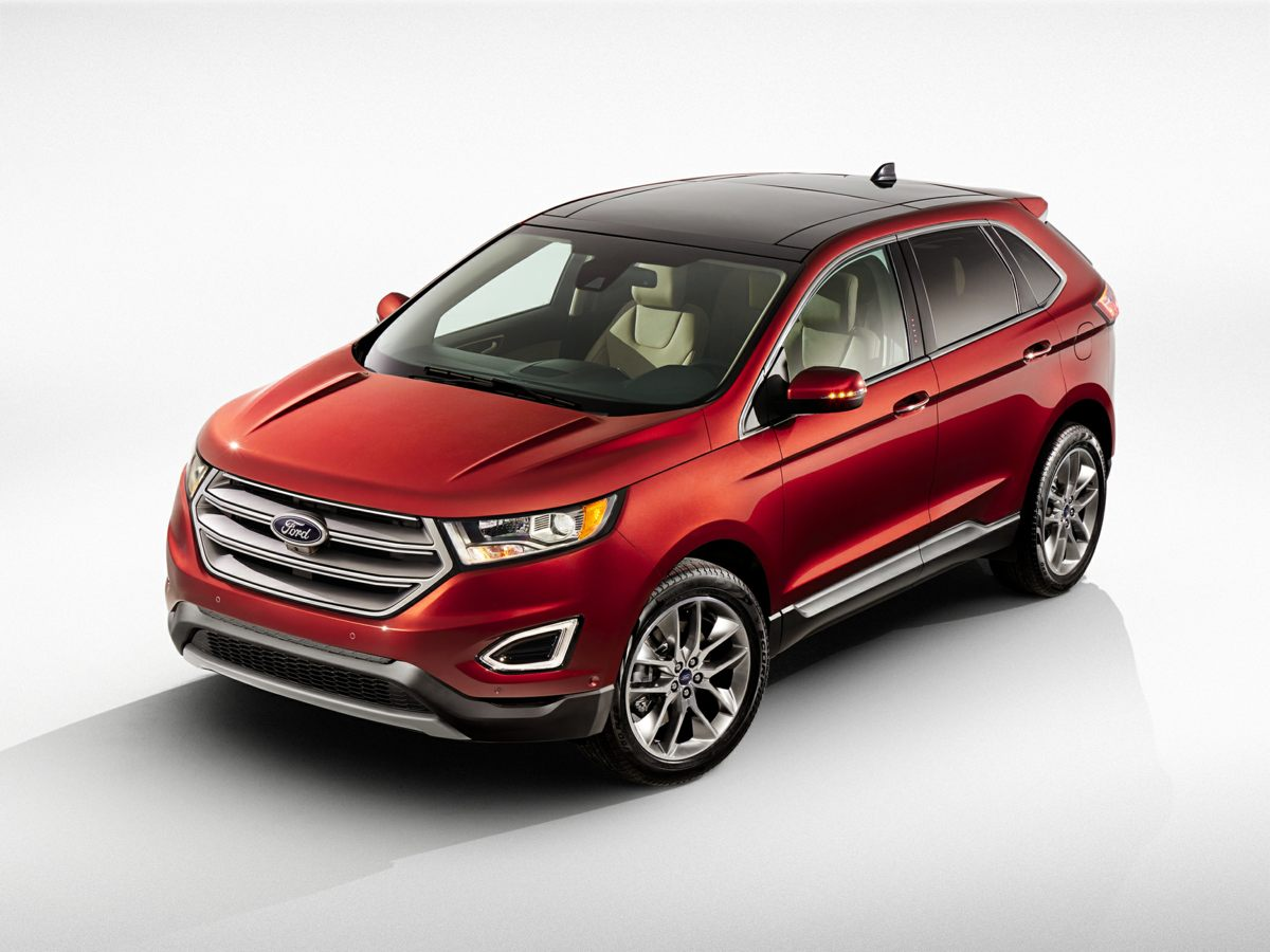 2016 Ford Edge Titanium Gray Axle Ratio TBDWheels 19 Aluminum Premium Painted Luster NickelL