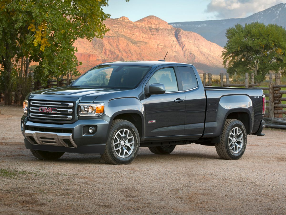 2015 GMC Canyon SLE1 Gray Traction control keeps you from slip sliding away Stability and tracti