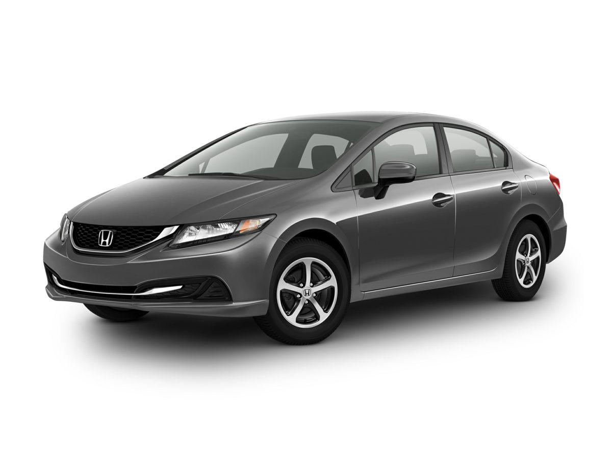 2015 Honda Civic SE Black Reclining Front Bucket SeatsCloth Seat Trim160-Watt AMFMCD Audio Sy
