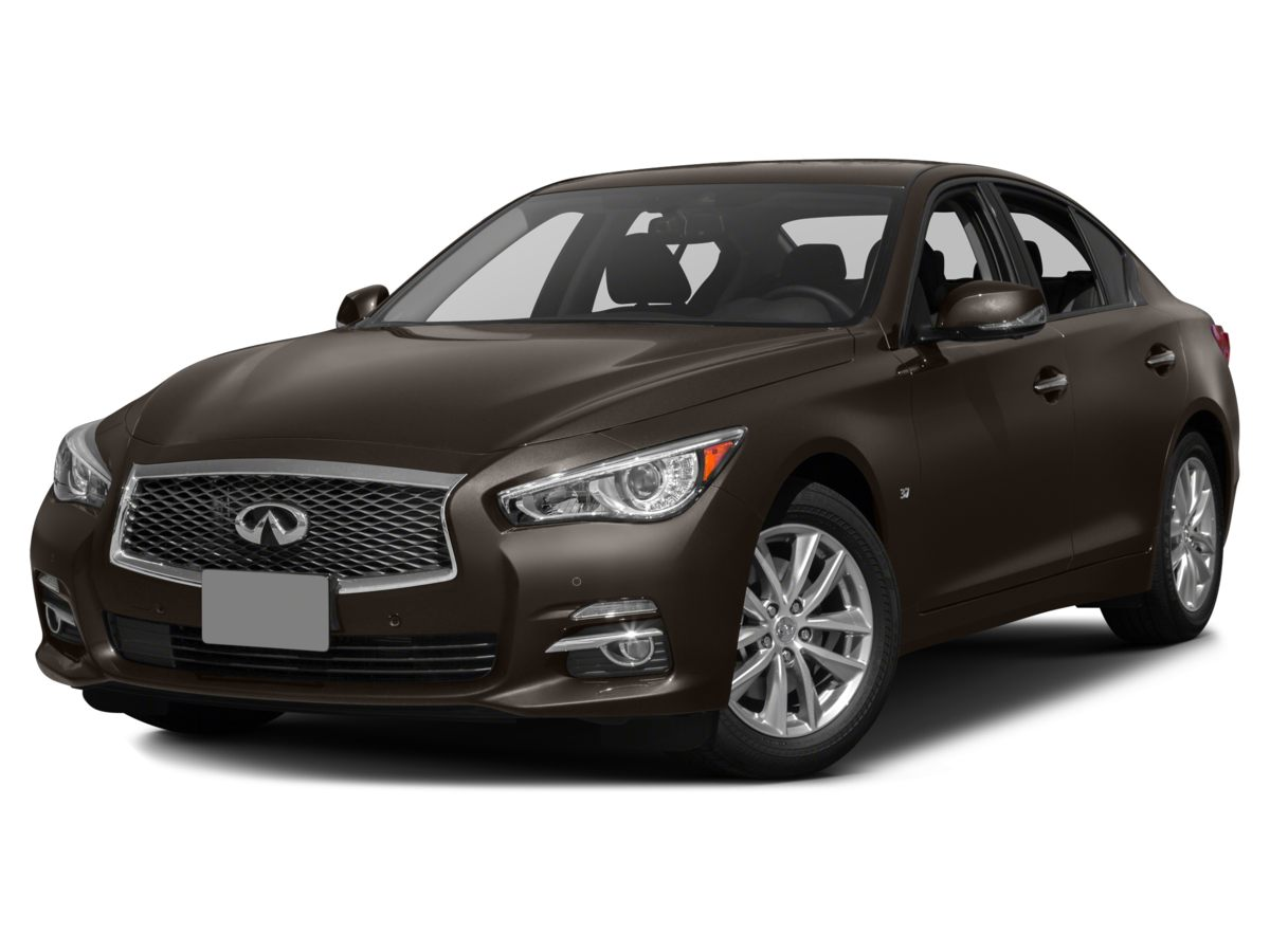 2015 INFINITI Q50 Premium Black FACTORY CERTIFIED MAINTENANCE RECORDS AVAILABLE PREMIUM PKG PR