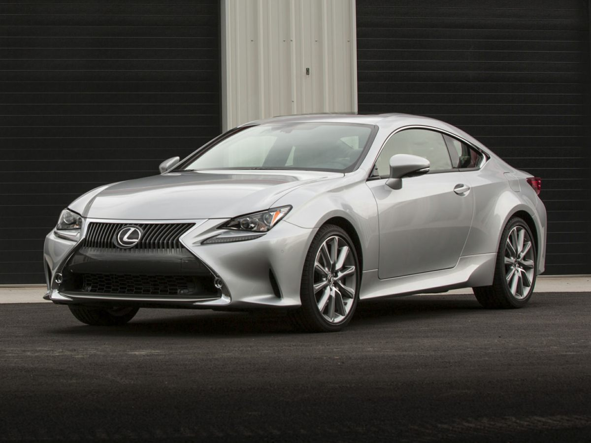 2016 Lexus RC Gray Radio AMFMIn-Dash CD w7 VGA Display4-Wheel Disc BrakesAir Conditioning