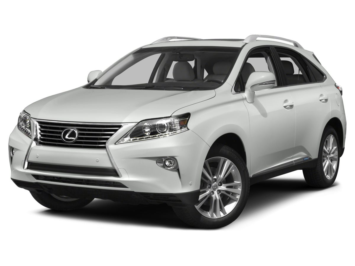 2015 Lexus RX 450h Silver 354 Axle RatioLeather Seat TrimRadio Prem AMFM Audio wSingle CD P