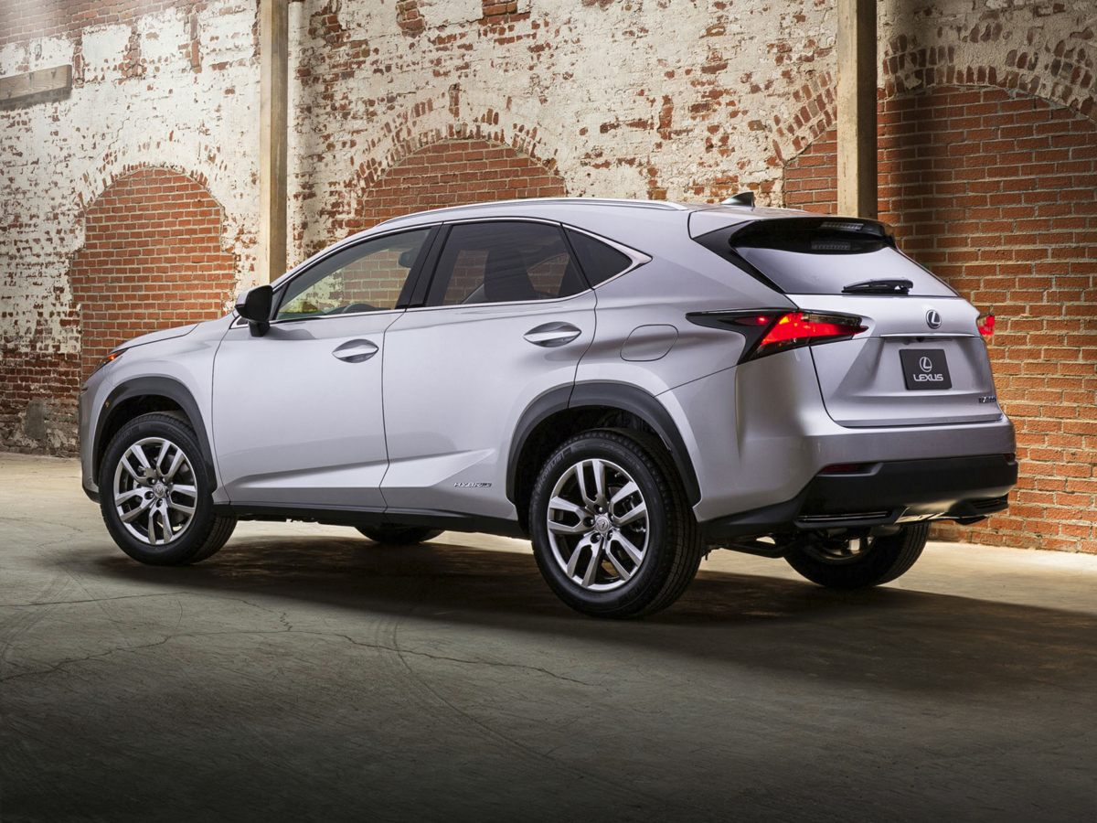 2015 Lexus NX 300h White 3542 Axle RatioSynthetic Leather Seat TrimRadio AMFMCD Lexus Displ