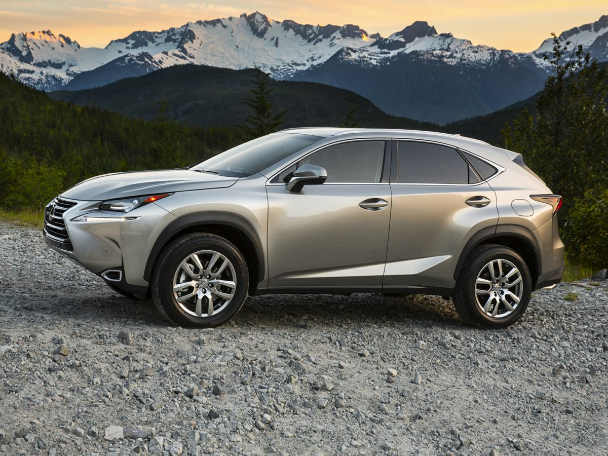 2016 Lexus NX 200t Silver 3888 Axle RatioSynthetic Leather Seat TrimRadio AMFMCD Lexus Disp