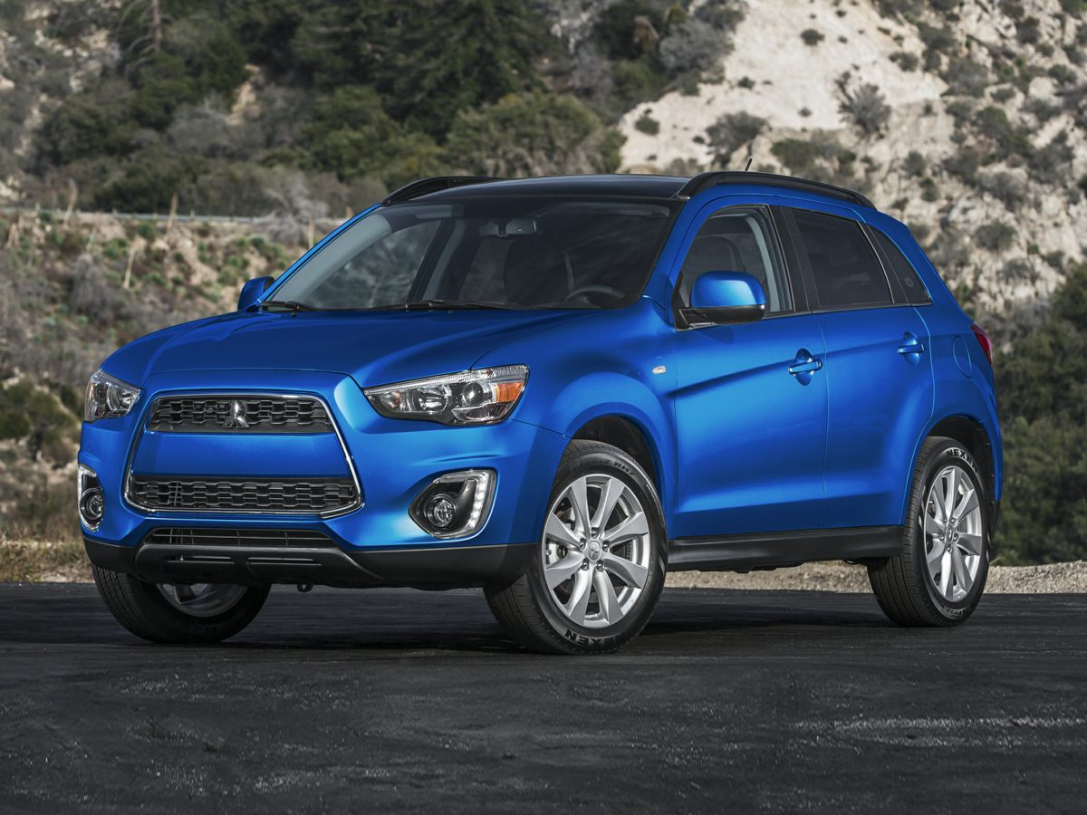 2015 Mitsubishi Outlander Sport ES Black Outlander Sport ES and 4D Sport Utility Well-maintained