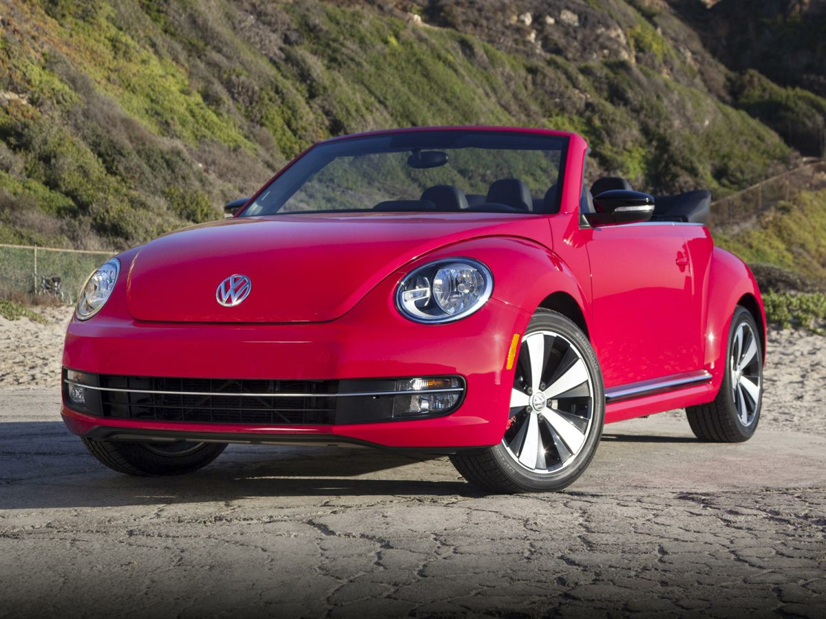 2015 Volkswagen Beetle 18T Black 8 SpeakersAMFM radioCD playerMP3 decoderRadio data system