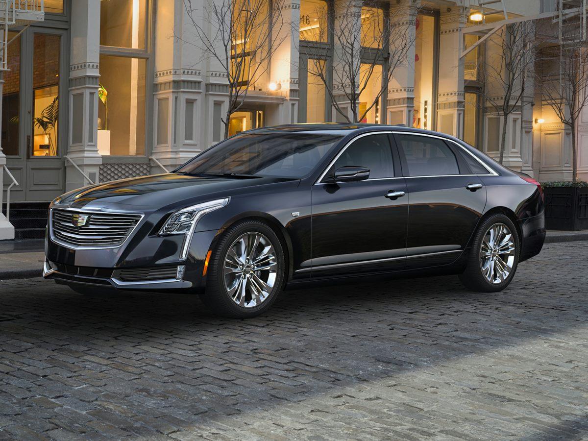 2017 Cadillac CT6 36L Premium Luxury Black Wheels 19 x 85 Ultra-Bright Machined AluminumLea