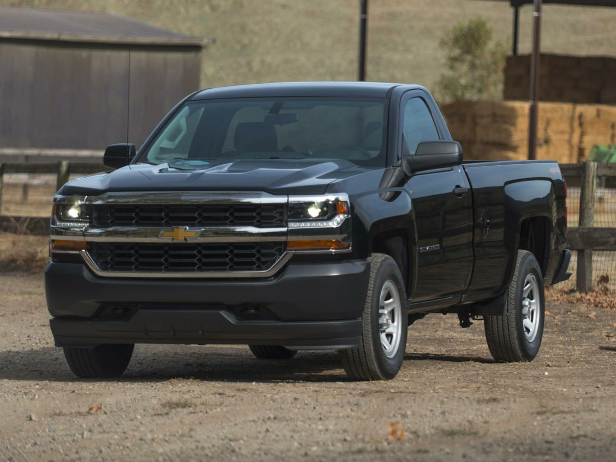 2016 Chevrolet Silverado 1500 LT Gray Recent Arrival CARFAX One-Owner Clean CARFAX 4 Chrome R