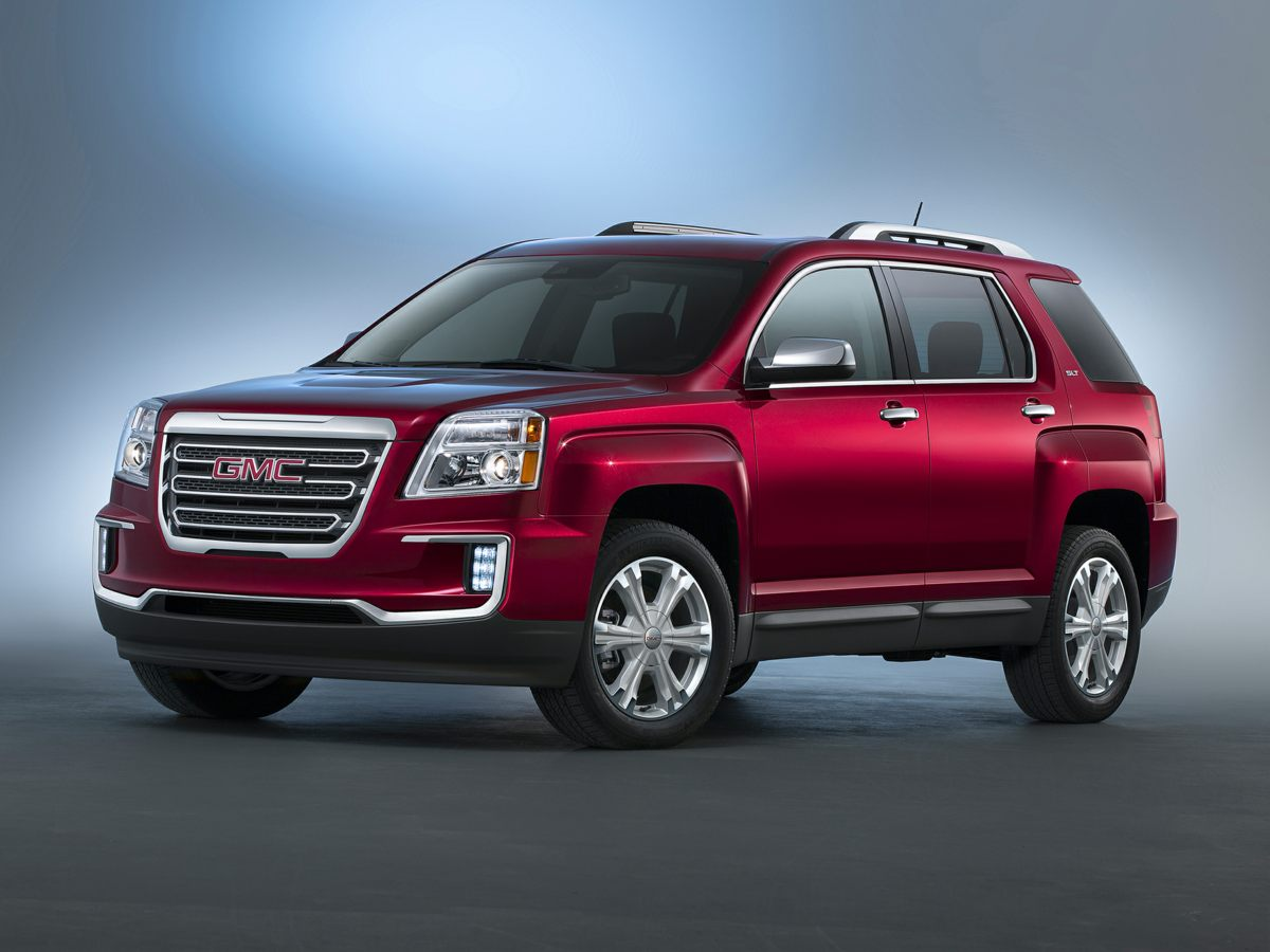 2016 GMC Terrain SLT-1 Black CARFAX One-Owner GM Certified Wi Fi Satelite Radio On Star Equip