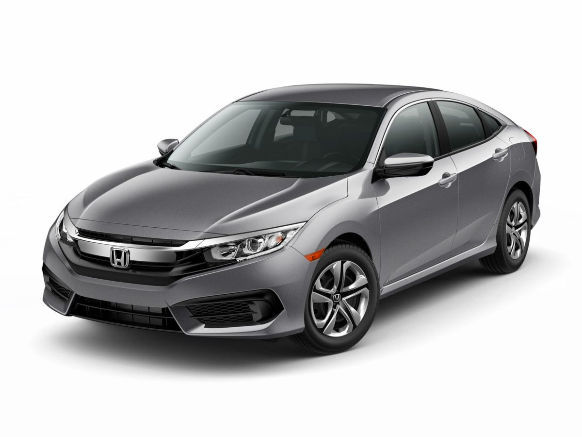 2016 Honda Civic LX Gray Isnt it time for a Honda Hurry and take advantage now This terrific