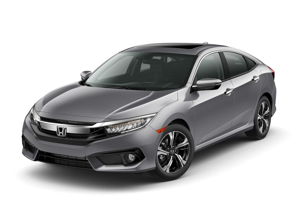 2016 Honda Civic Touring Gray Nav Turbocharged This gorgeous-looking 2016 Honda Civic is the ra