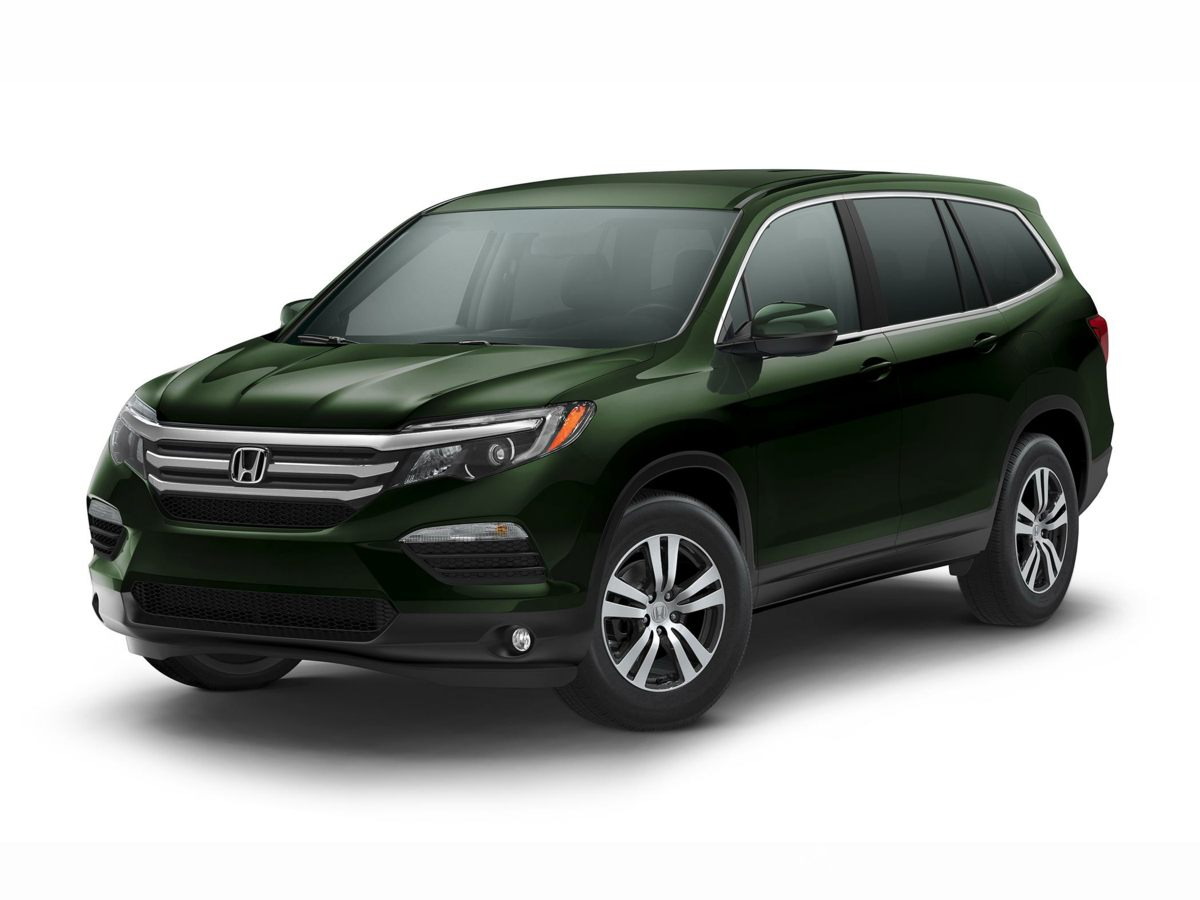 2017 Honda Pilot EX White All Wheel Drive Gasoline Youll be hard pressed to find a cleaner 201