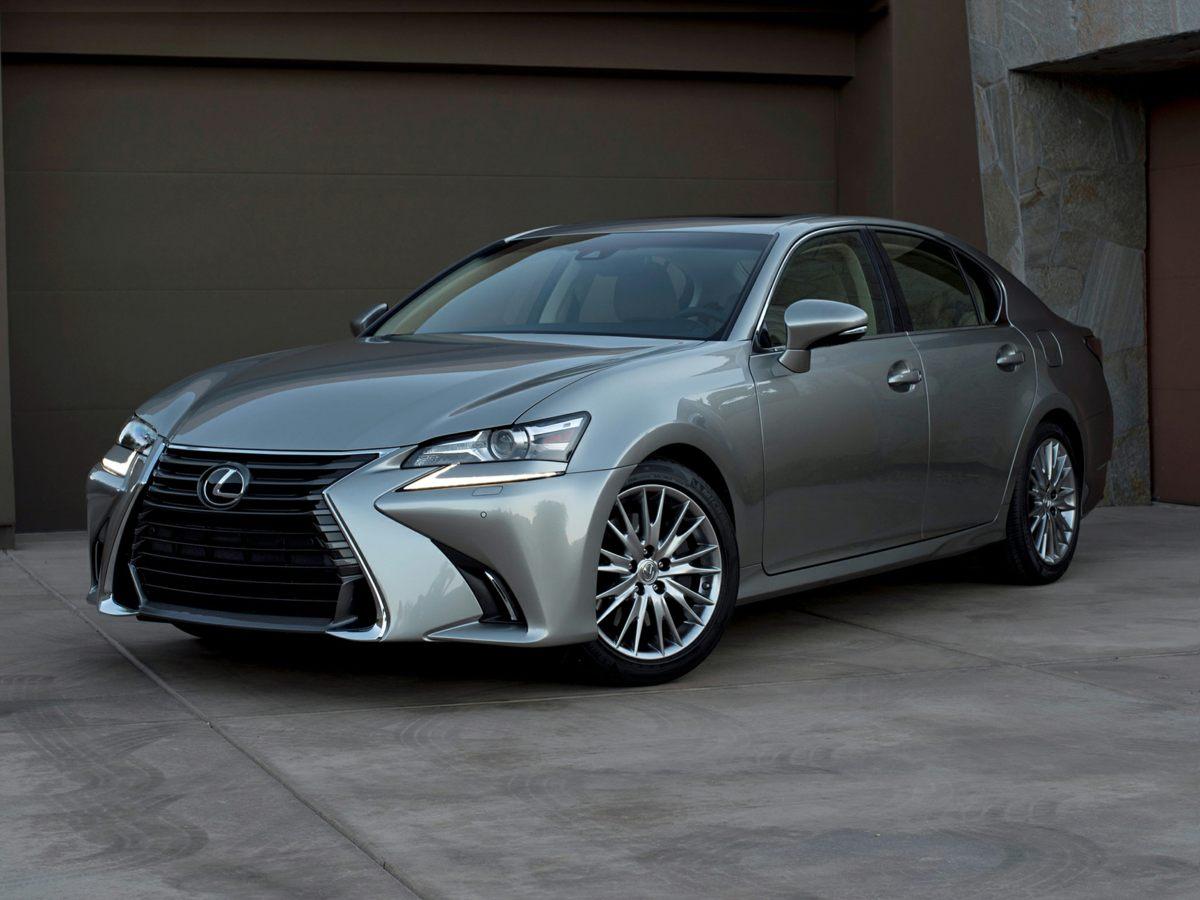 2016 Lexus GS 200t Silver Front Bucket SeatsRadio Lexus Premium AMFMDVDHD Audio System12 S