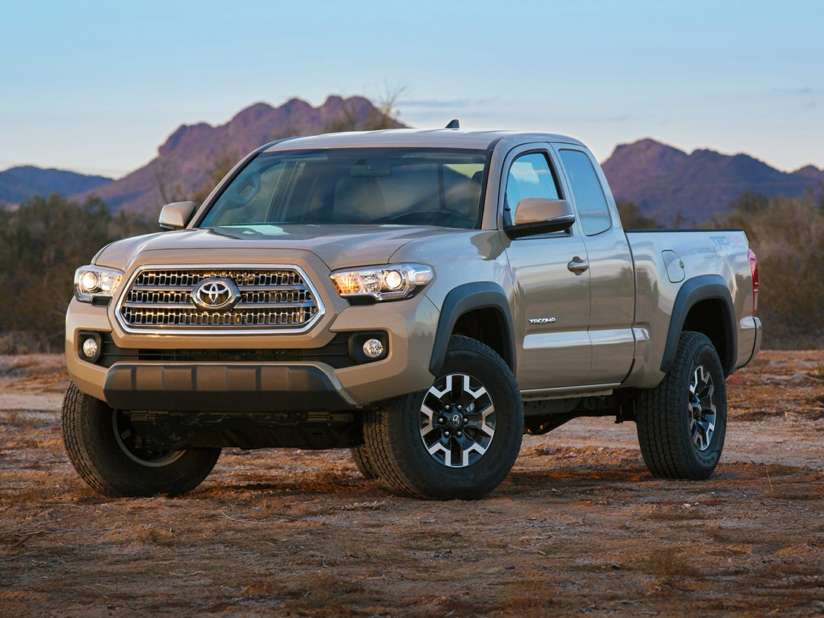2016 Toyota Tacoma SR5 Tacoma SR5 V6 and 4D Double Cab Low miles mean barely used Like new Your