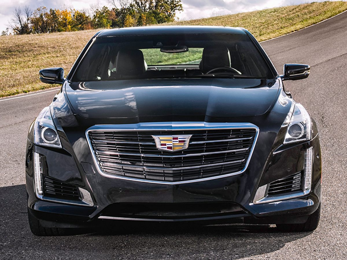2018 Cadillac CTS 20L Turbo Luxury Gray Front Bucket SeatsLeather Seating SurfacesSeating Pack