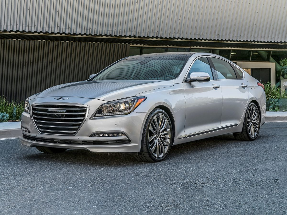 2017 Genesis G80 38 Silver Wheels 18 x 80J Alloy12-Way Power Heated Front